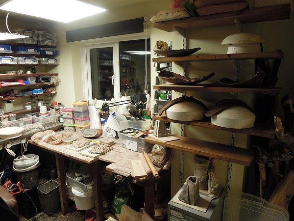 Sal's studio